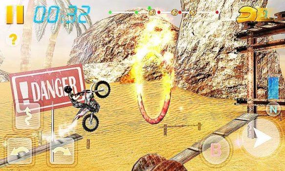 Игра велосипедная гонка 3Д на телефон