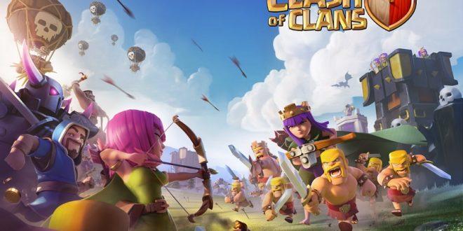 игра Clash of clans на Андроид