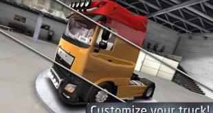 Игра симулятор Euro Truck Driver