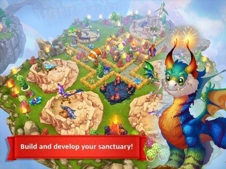 игра Dragons World для телефона
