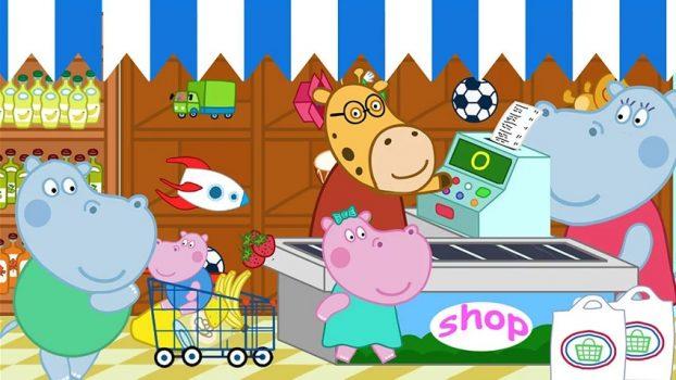 детская развивающая игра Kids Supermarket на телефон