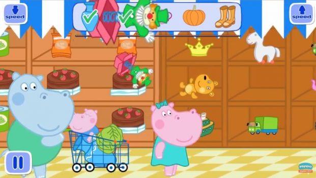 скачать игру Kids Supermarket