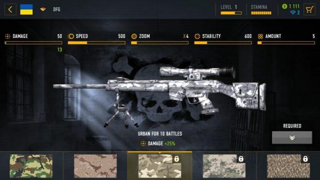 игра Sniper Arena 3d на андроид
