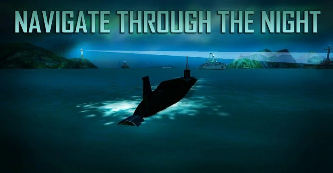 Игра 3D Submarine Sim MMO для телефона