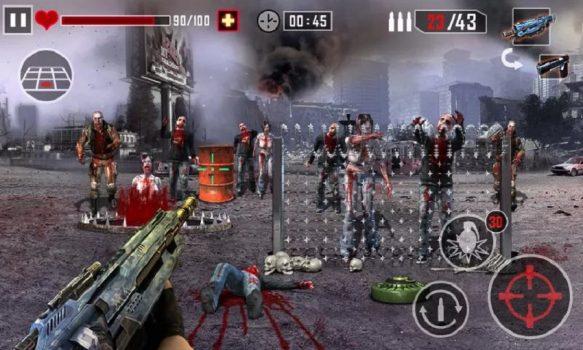 игра Zombie killer на телефон