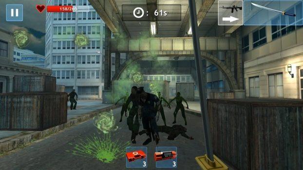 игра Zombie Objective для телефона