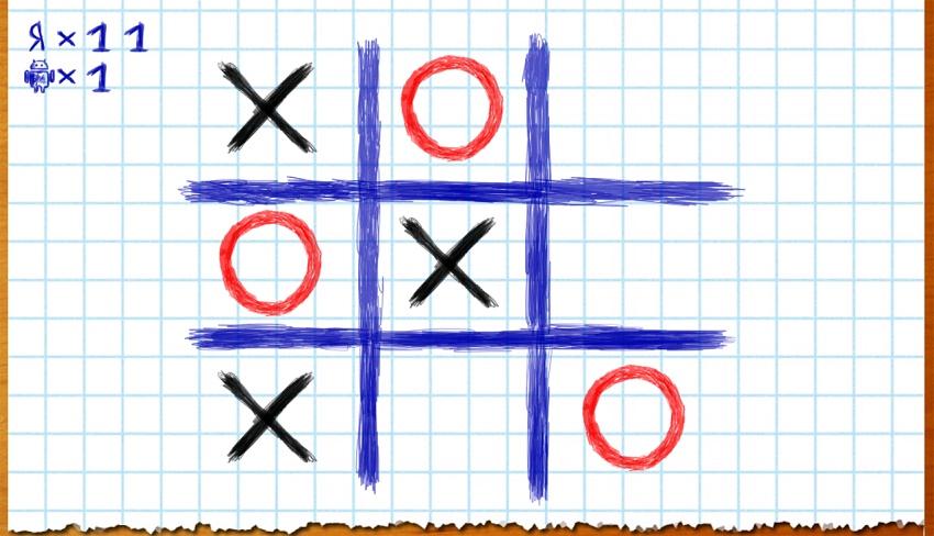игра на андроид Крестики Нолики