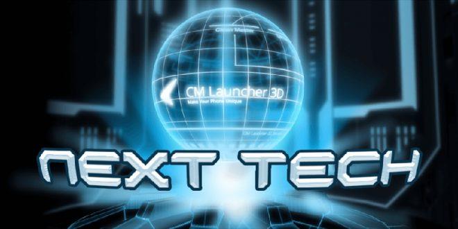 приложение 3D Tech Theme Samsung & Huawei
