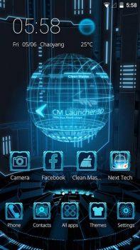 скачать темы 3d на телефон андроид