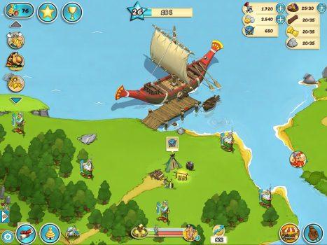 скачать бесплатную игру Asterix and Friends на телефон в жанре стратегии