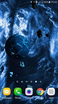 приложение Астероиды 3D