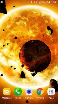 скачать приложение Астероиды 3D