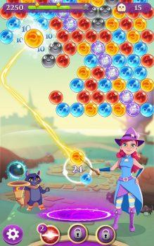 игра Bubble Witch 3 Saga бесплатно на телефон