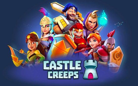 игра Castle Creeps TD на телефон