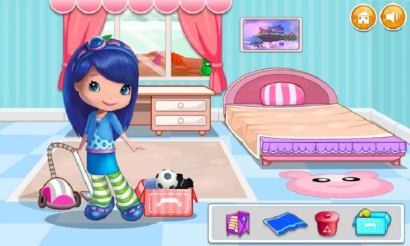 игра для девочек Clean House for Kids