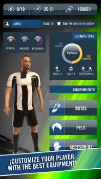 спортивная игра Dream Soccer Star на андроид