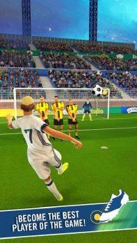 скачать игры про футбол на андроид