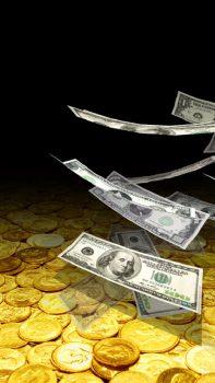 приложение Падающие деньги 3D