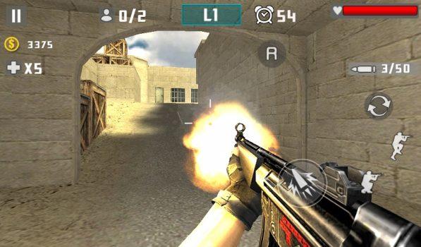 скачать игру Gun Shot Fire War шутер на андроид
