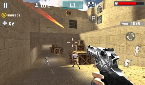 3D игра Gun Shot Fire War на андроид