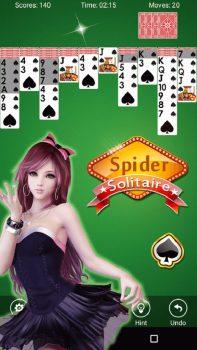 скачать игру Spider Solitaire