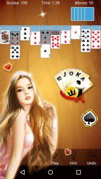 игра пасьянс Паук бесплатно на телефон