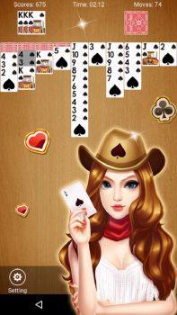 бесплатная игра пасьянс на телефон