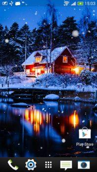 приложение Снегопад