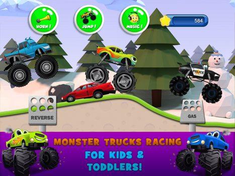 скачать игру Monster Trucks
