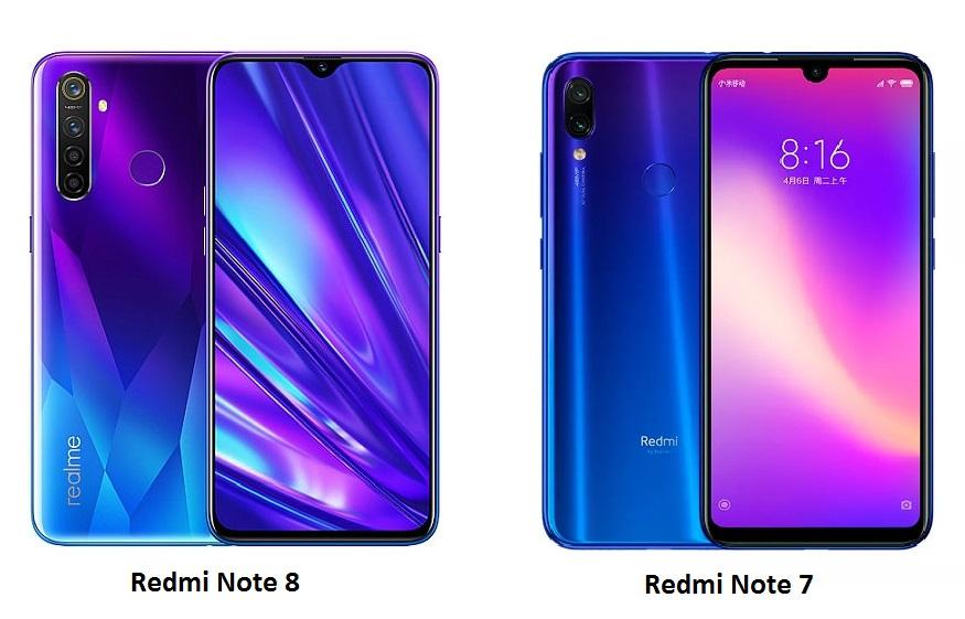 Сравнение с Xiaomi Redmi Note 7