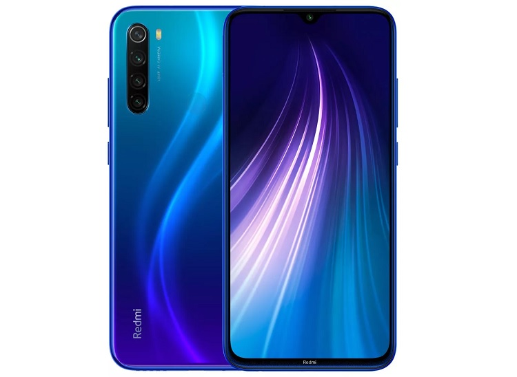 Дизайн Xiaomi Redmi Note 8