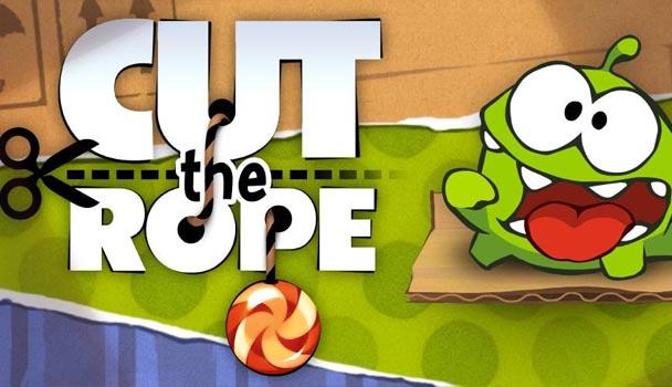 Игра для сенсорных телефонов – Cutthe Rope