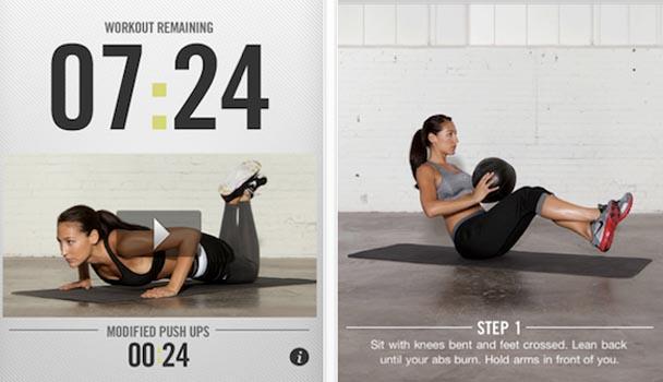 Nike Training Club – приложение для женщин