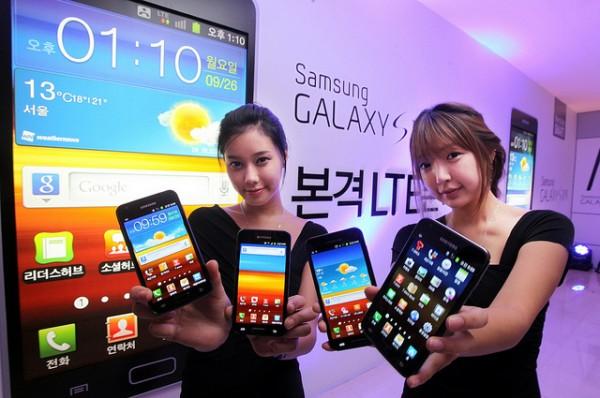 Samsung. В Galaxy S III 4 ядра