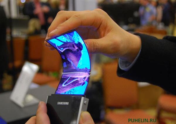 Galaxy Note 2 с гибкий дисплей