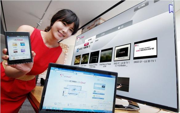 LG запускает бета-версию LG Cloud