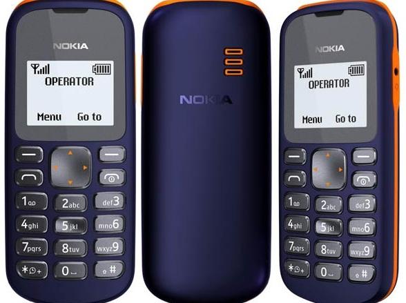 Функции мобильного телефона Nokia 103